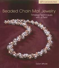 Beaded Chain Mail Jewelry 6